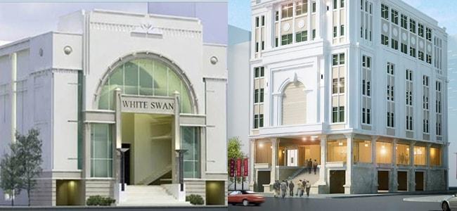 3V  thi công vách ngăn vệ sinh Compact  Trung tâm tiệc cưới và hội nghị White Swan – Tp. Đà Nẵng