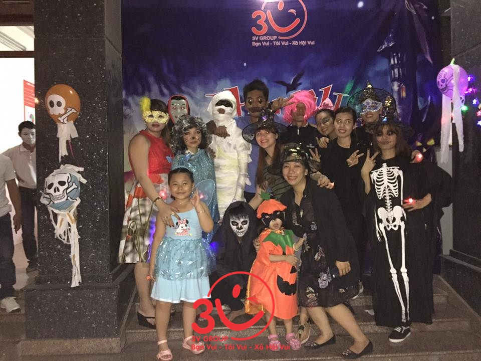 3V quậy tưng bừng trong Halloween's Party