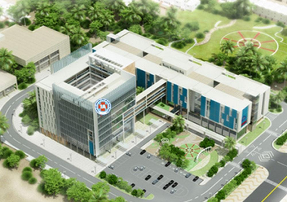 Thi công tấm compact dự án Bệnh viện chỉnh hình và phục hồi chức năng TPHCM