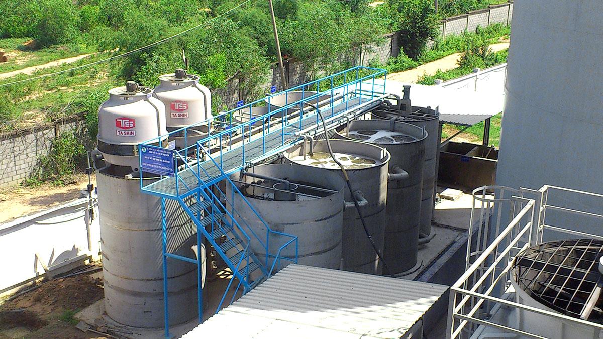 Biện pháp thi công vách ngăn vệ sinh cho Công ty Daewon Chemical Vina, Long Thành, Đồng Nai