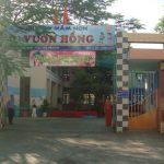 Làm vách ngăn nhà vệ sinh mầm non Vườn Hồng, Quận 8, HCM