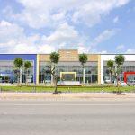 Làm vách ngăn vệ sinh compact hpl giá rẻ cho Trung tâm Thaco An Giang