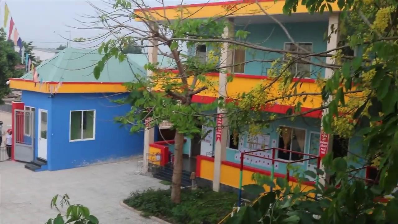 3V làm vách compact hpl giá tốt cho Trường Mầm Non Ngôi Sao Trẻ Thơ, Tân Uyên, Bình Dương