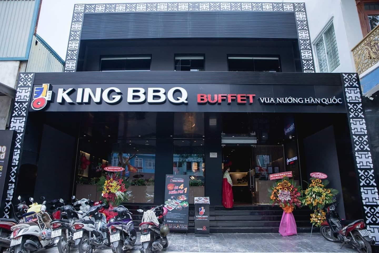 Khởi công dự án quán King BBQ làm tấm vách wc đẹp