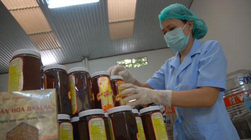 Làm vách ngăn vệ sinh chất lượng cao cho Công ty Ong Mật Tây Nguyên