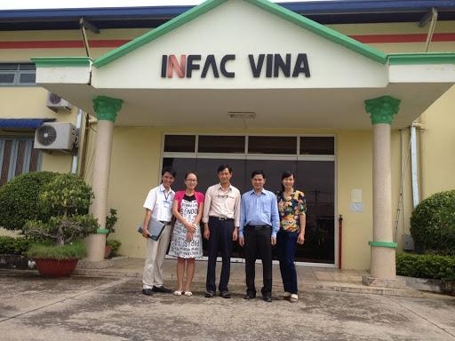 Làm vách ngăn toilet đẹp tiêu chuẩn kỹ thuật tại Dự án INFAC, Chơn Thành, Bình Phước