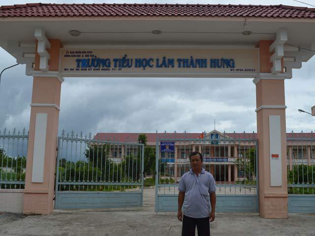 Dự án vách ngăn wc compact hpl tại Trường Tiểu học Lâm Thành Hưng, Sóc Trăng