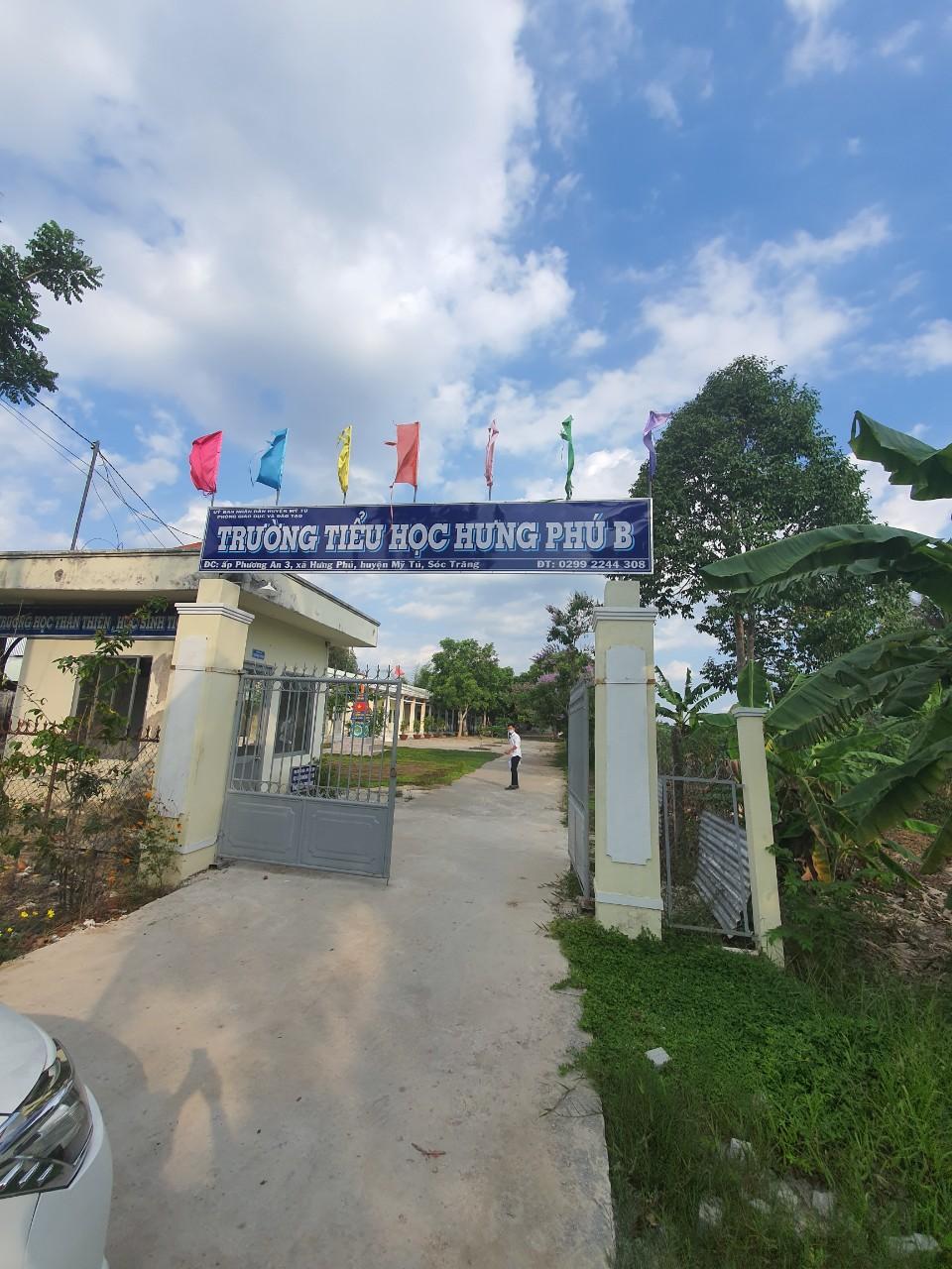 Công trình vách ngăn compact tại Trường Tiểu học Hưng Phú B tỉnh Sóc Trăng