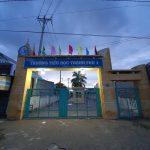 Vách ngăn WC tấm compact GIÁ RẺ tại Trường THCS Thạnh Phú 1, Sóc Trăng